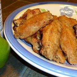 Honey Lime Chicken Wings ren1216