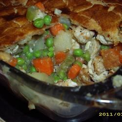 All-Natural Chicken Pot Pie Aimgrrrl