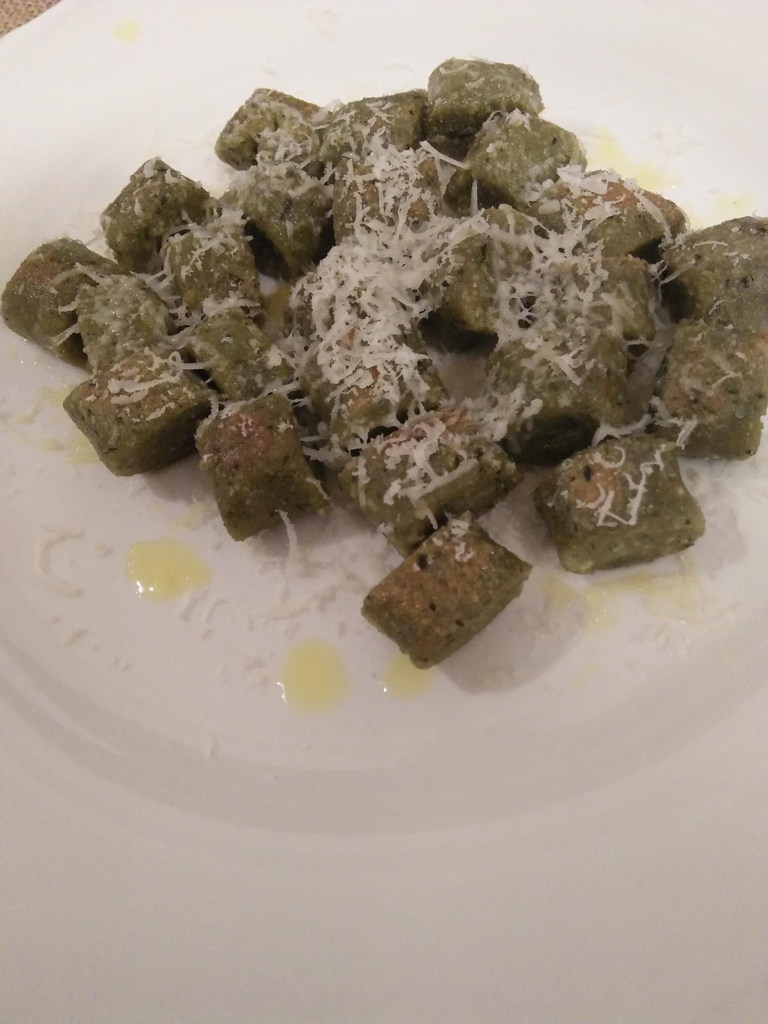 Chef John's Basil Ricotta Gnocchi
