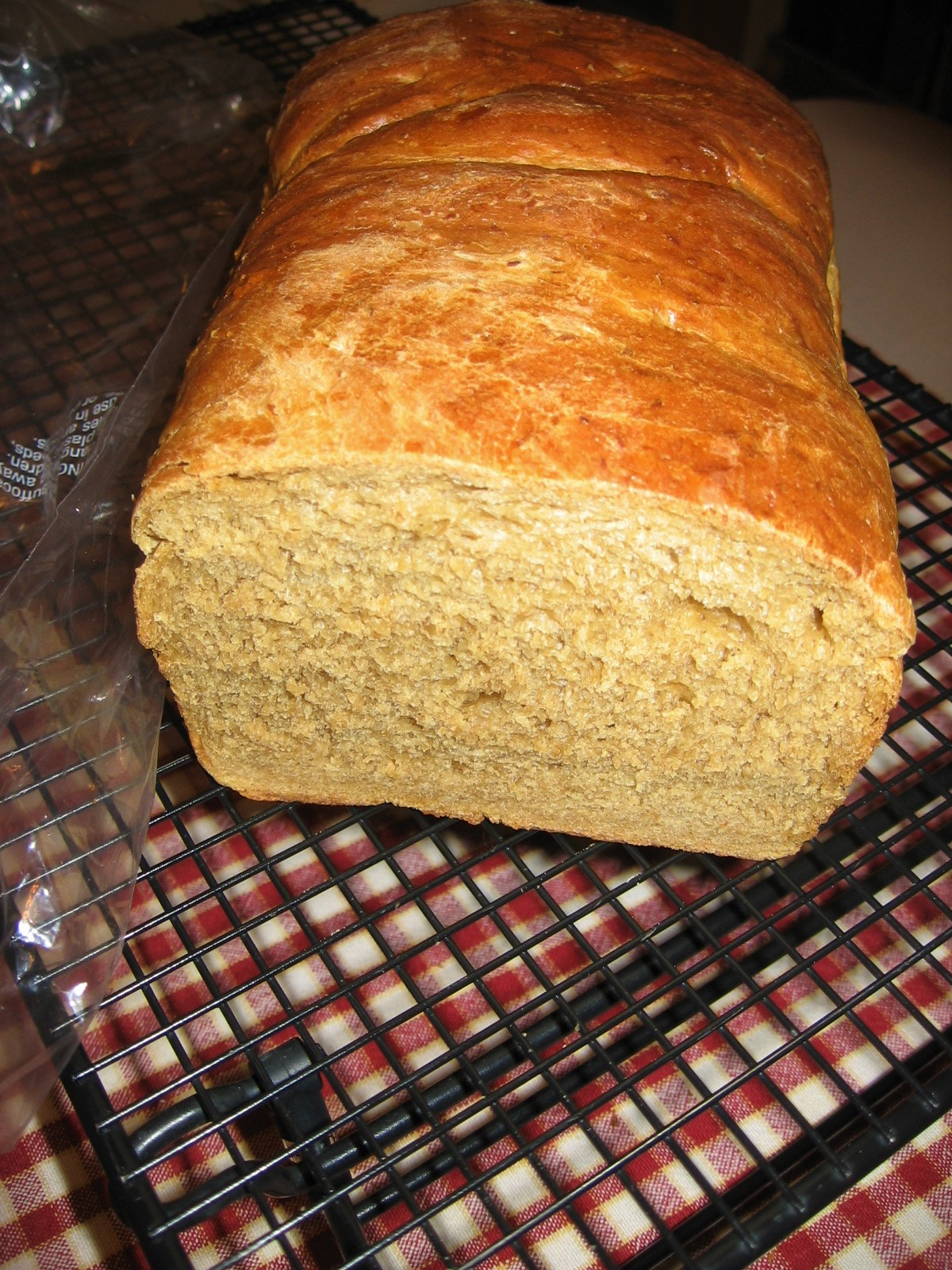 Old-Fashioned Oatmeal Brown Bread Maryscookin