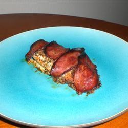 Chelsea's Bacon Roast Chicken kellieann