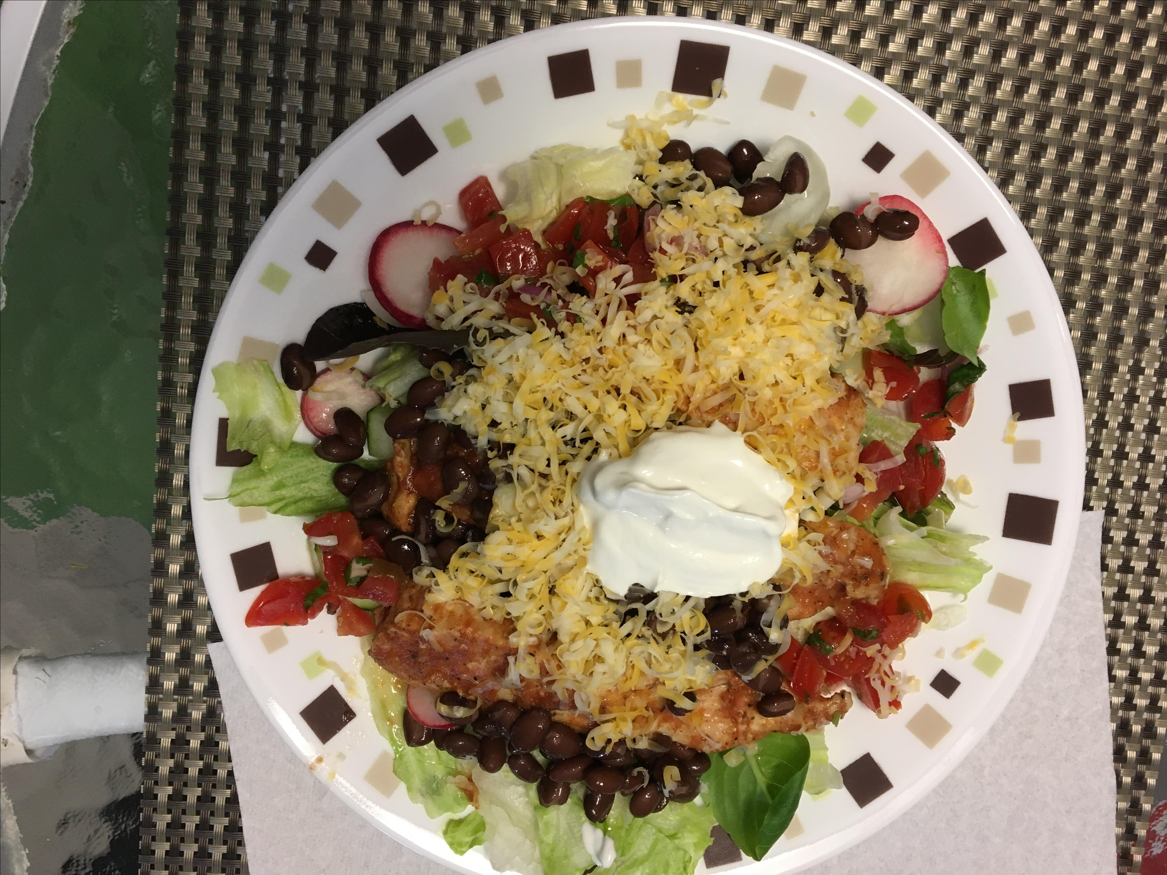 Mexican Chicken and Black Bean Salad Cookie52
