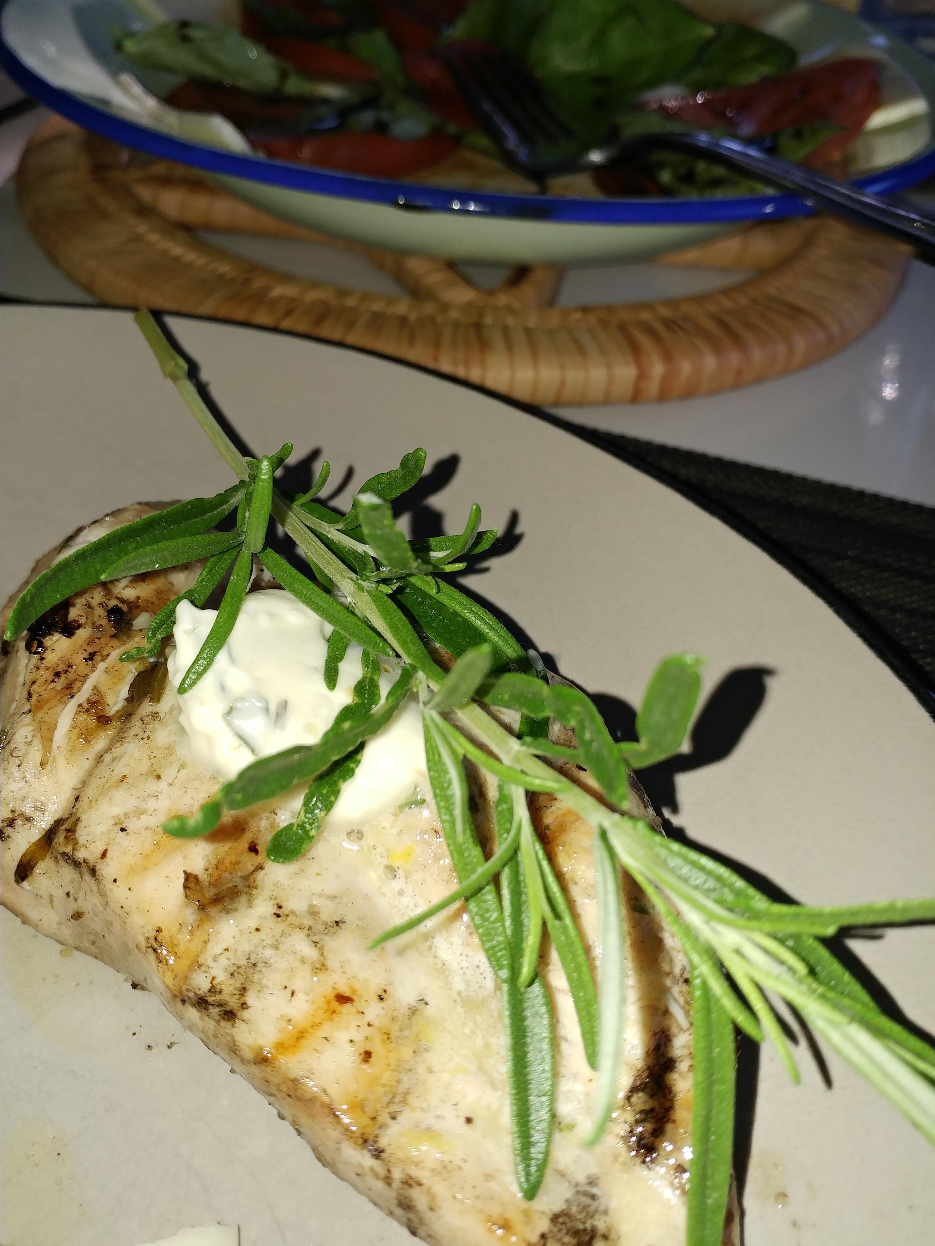 Rosemary Lemon Grilled Chicken Cathy C