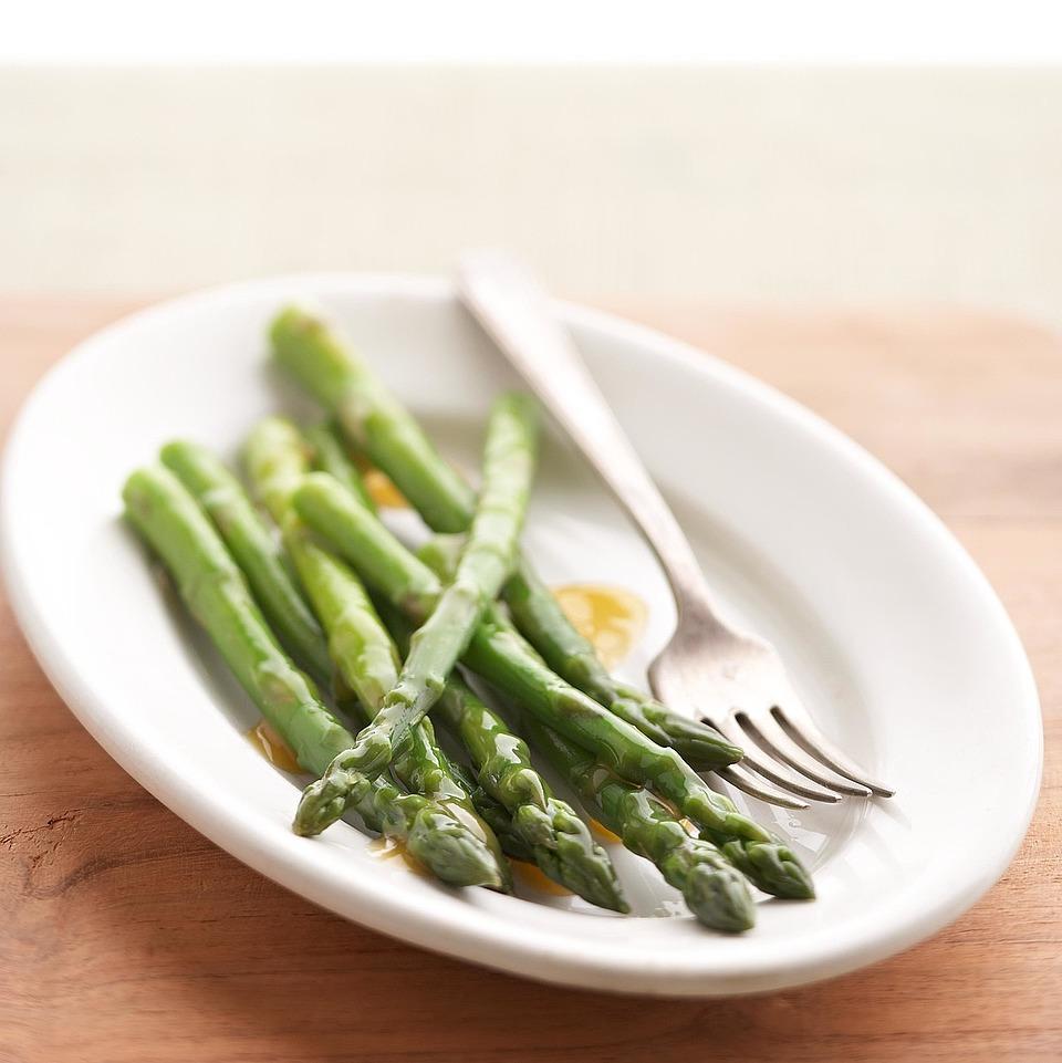 Asparagus with Warm Vinaigrette Diabetic Living Magazine