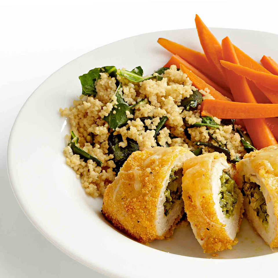 Greens and Couscous Diabetic Living Magazine