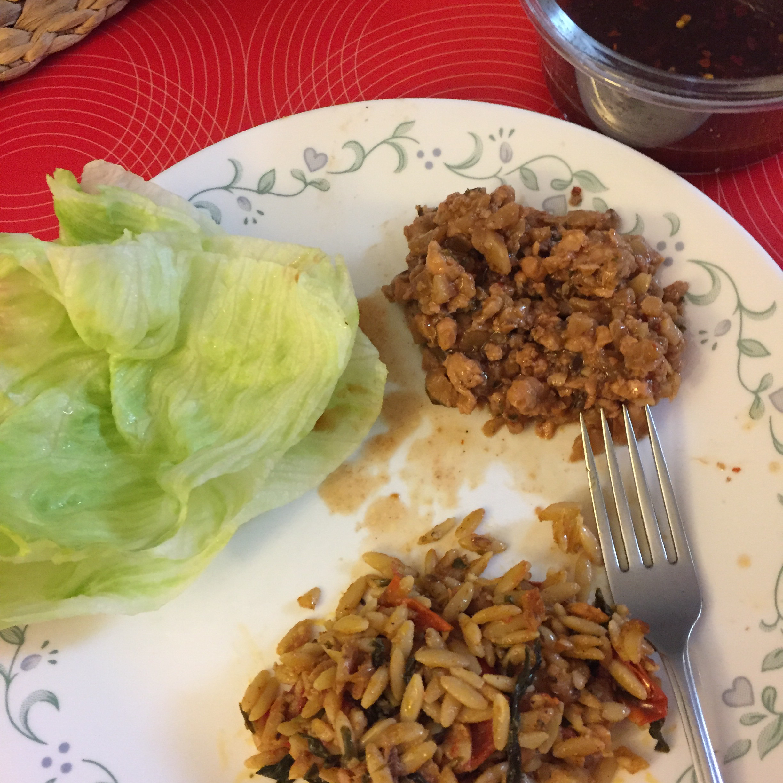 Chef John's Chicken Lettuce Wraps April Panaligan Peralta