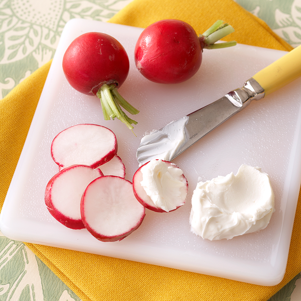 Cream Cheese Radishes Diabetic Living Magazine