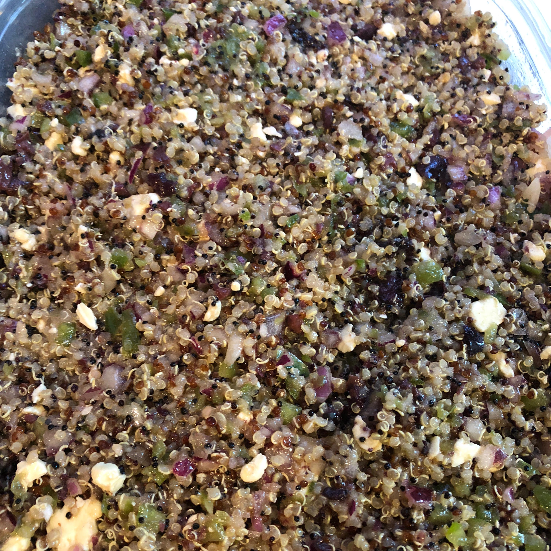 Mediterranean Quinoa Salad Zakiya
