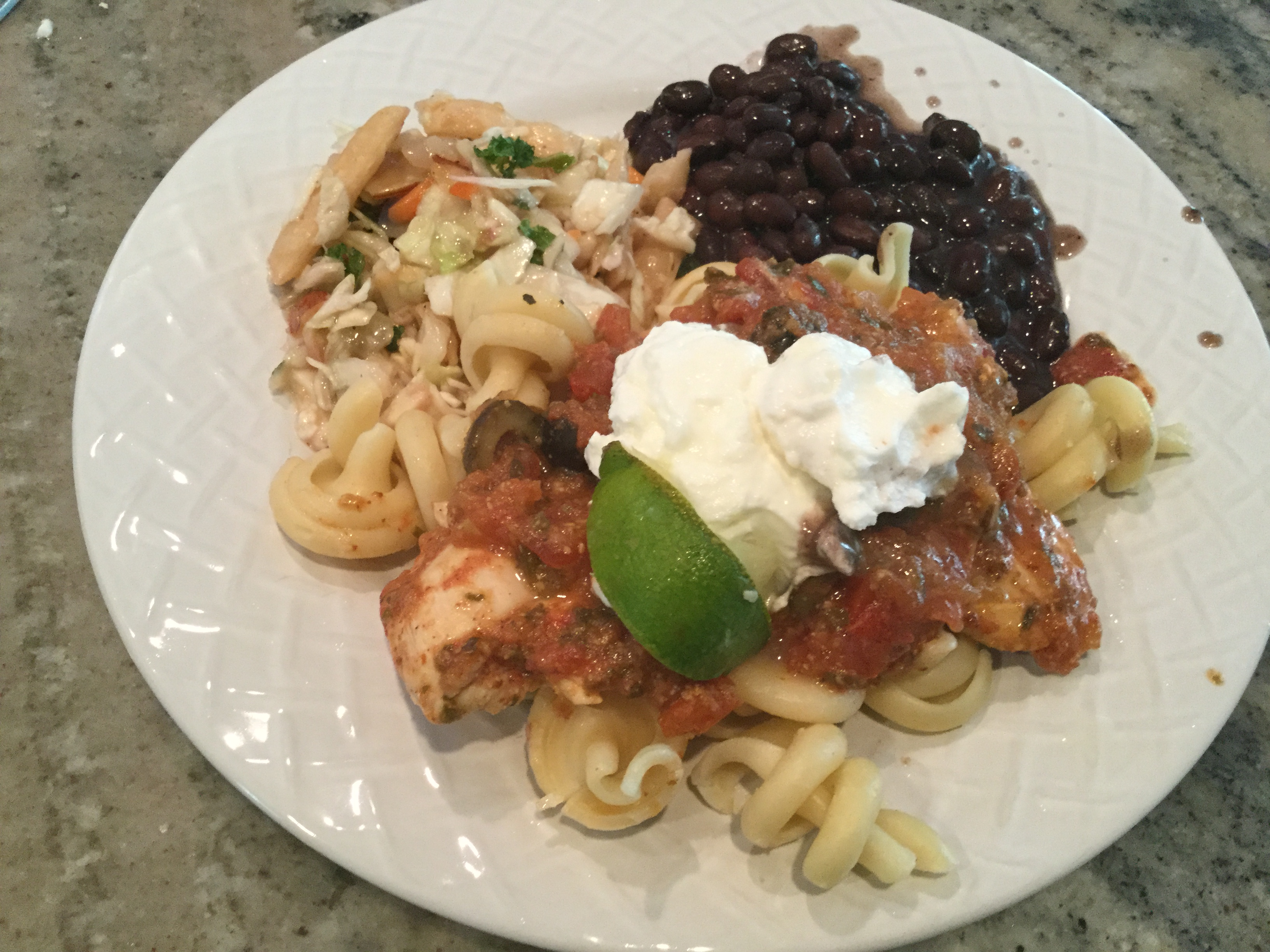 Lime Chicken Picante