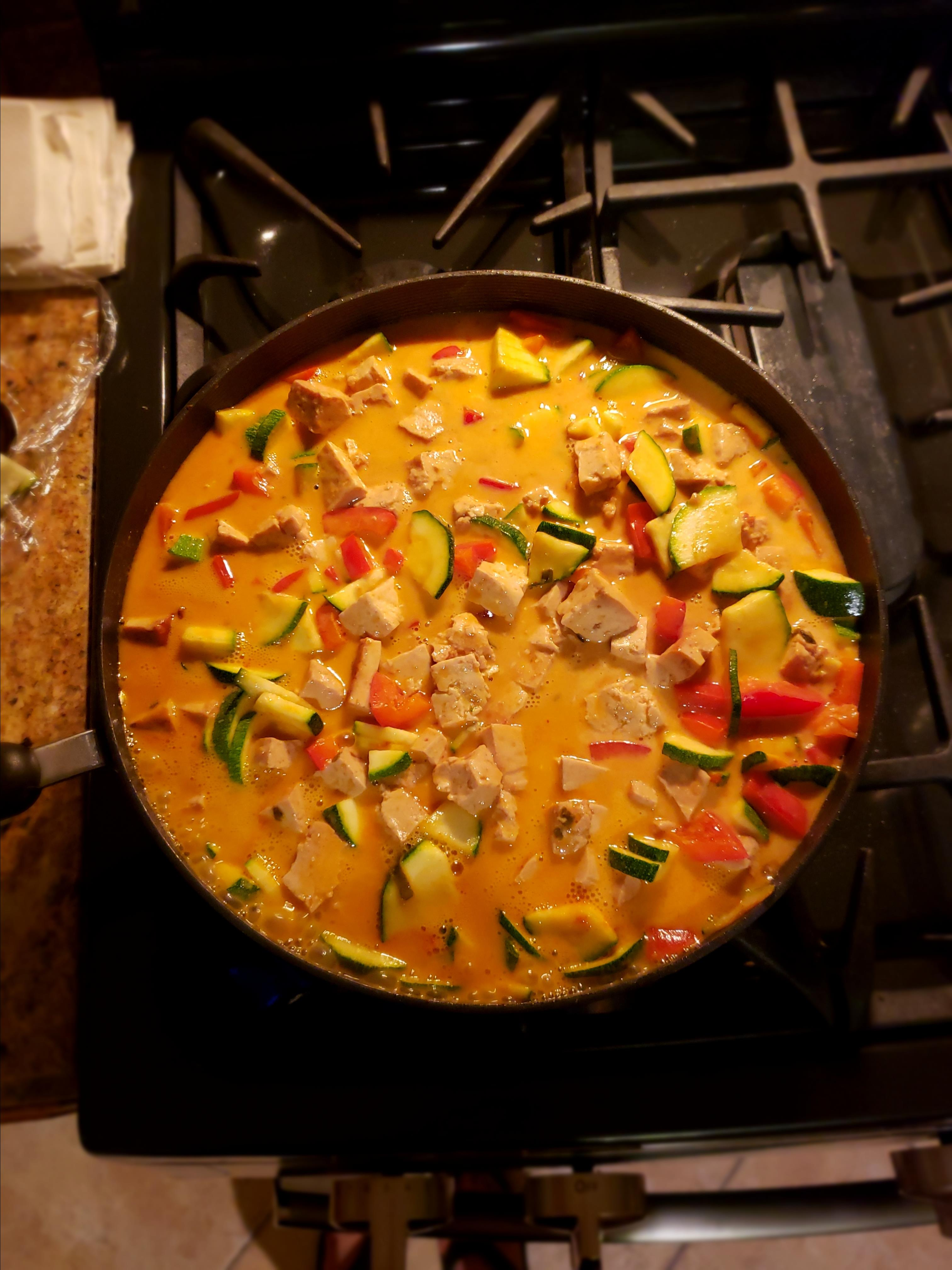 Lime-Curry Tofu Stir-Fry