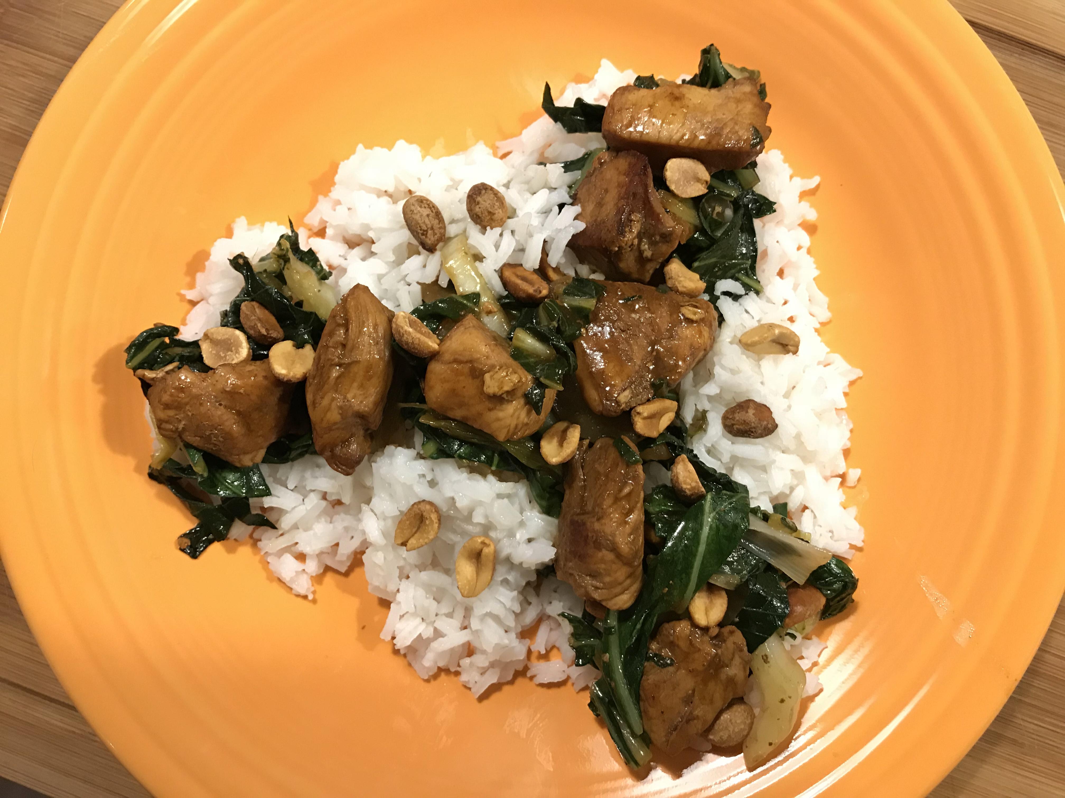 Healthier Kung Pao Chicken Clara
