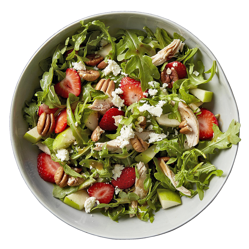 Strawberry-Balsamic Arugula Salad Diabetic Living Magazine