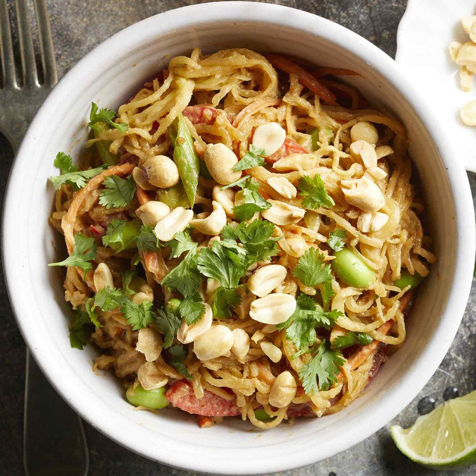 Thai Spaghetti Squash with Peanut Sauce Carolyn Casner