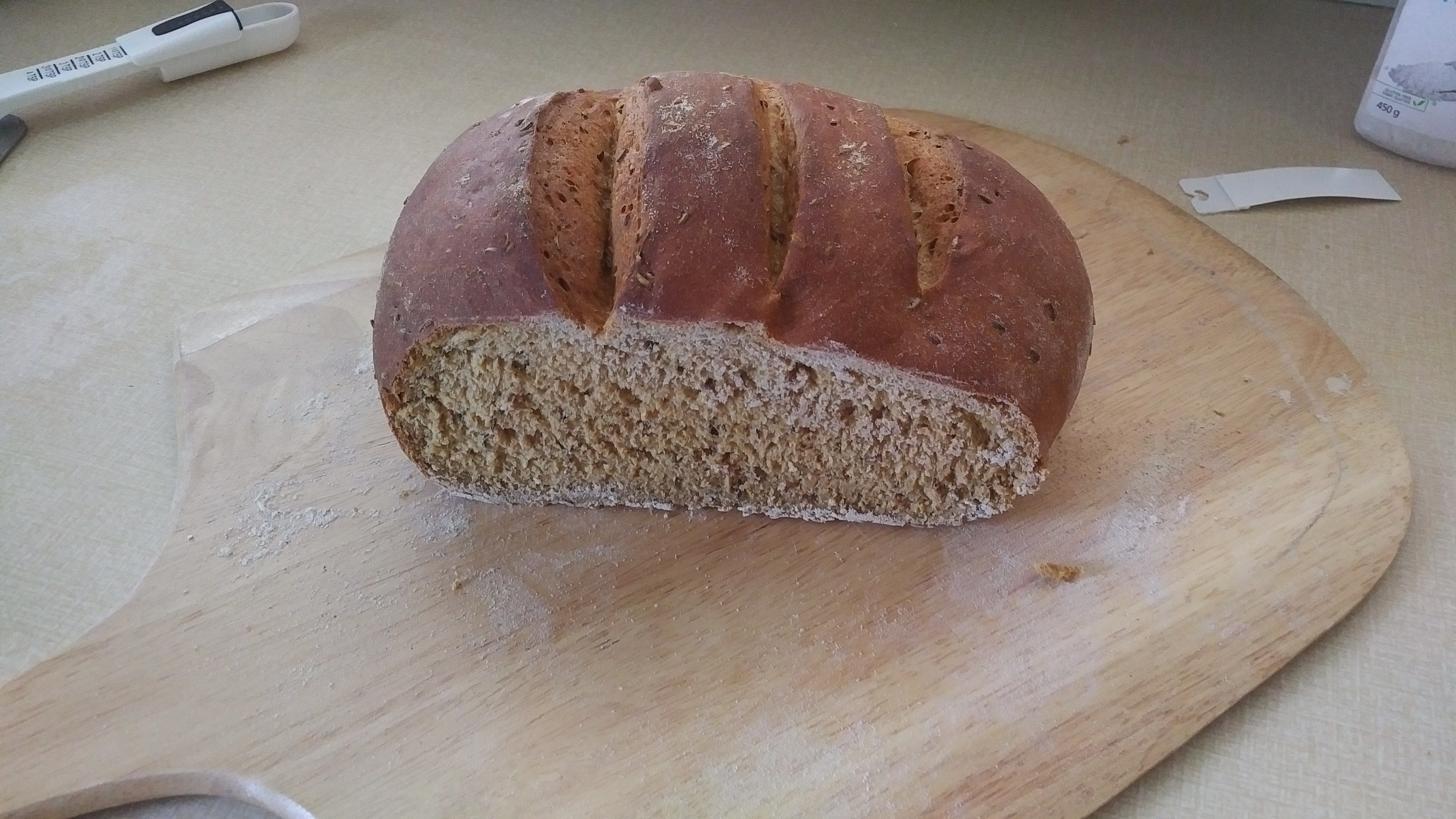 Caraway Rye Bread (for the bread machine) Anthony D