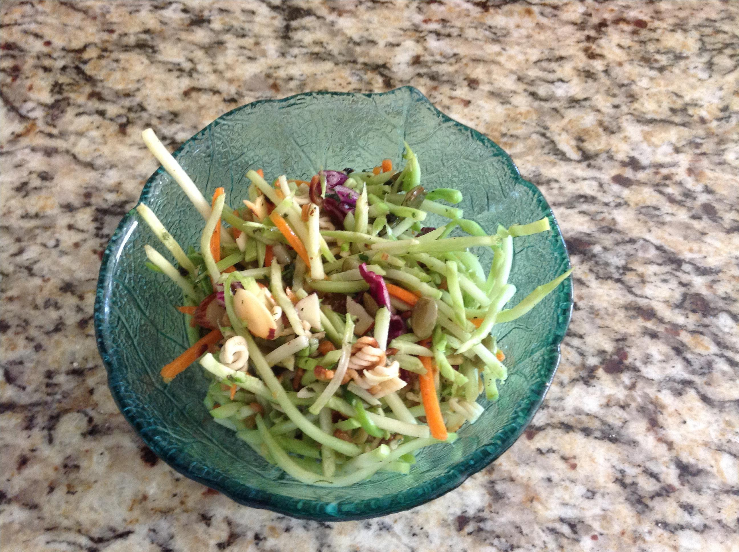 Asian Broccoli Slaw DonnaFloyd