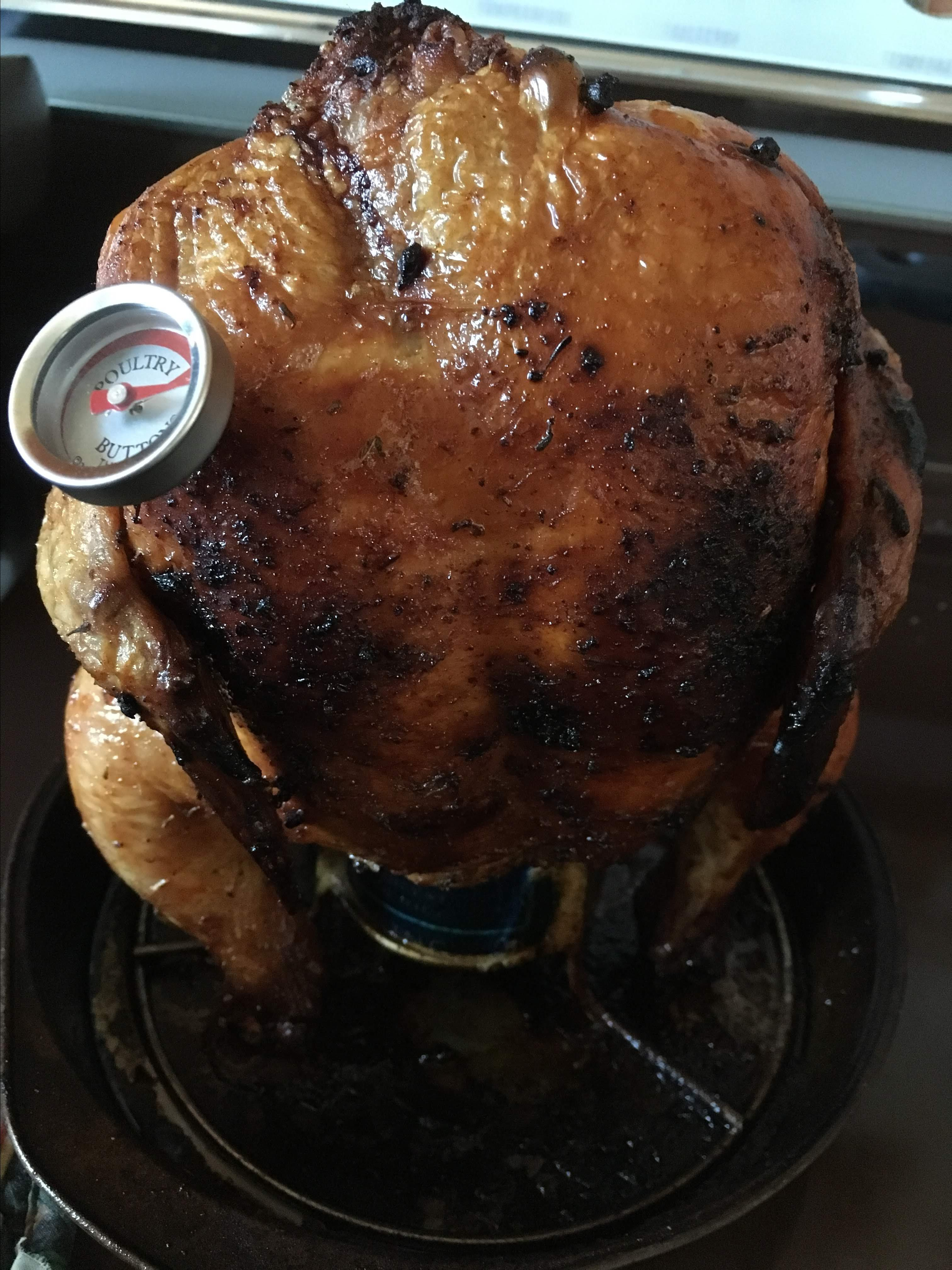 Clay's Grilled Beer Can Chicken