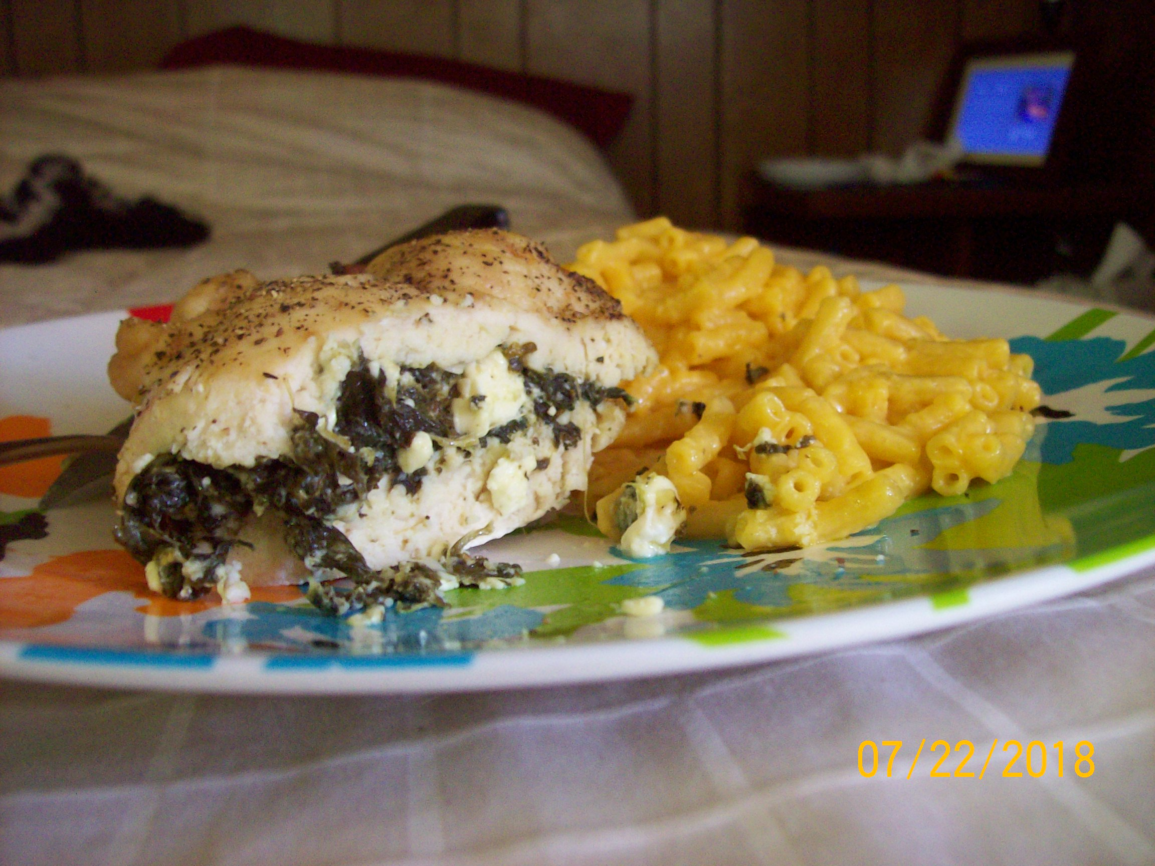 Spinach Stuffed Chicken Breasts Sweetness