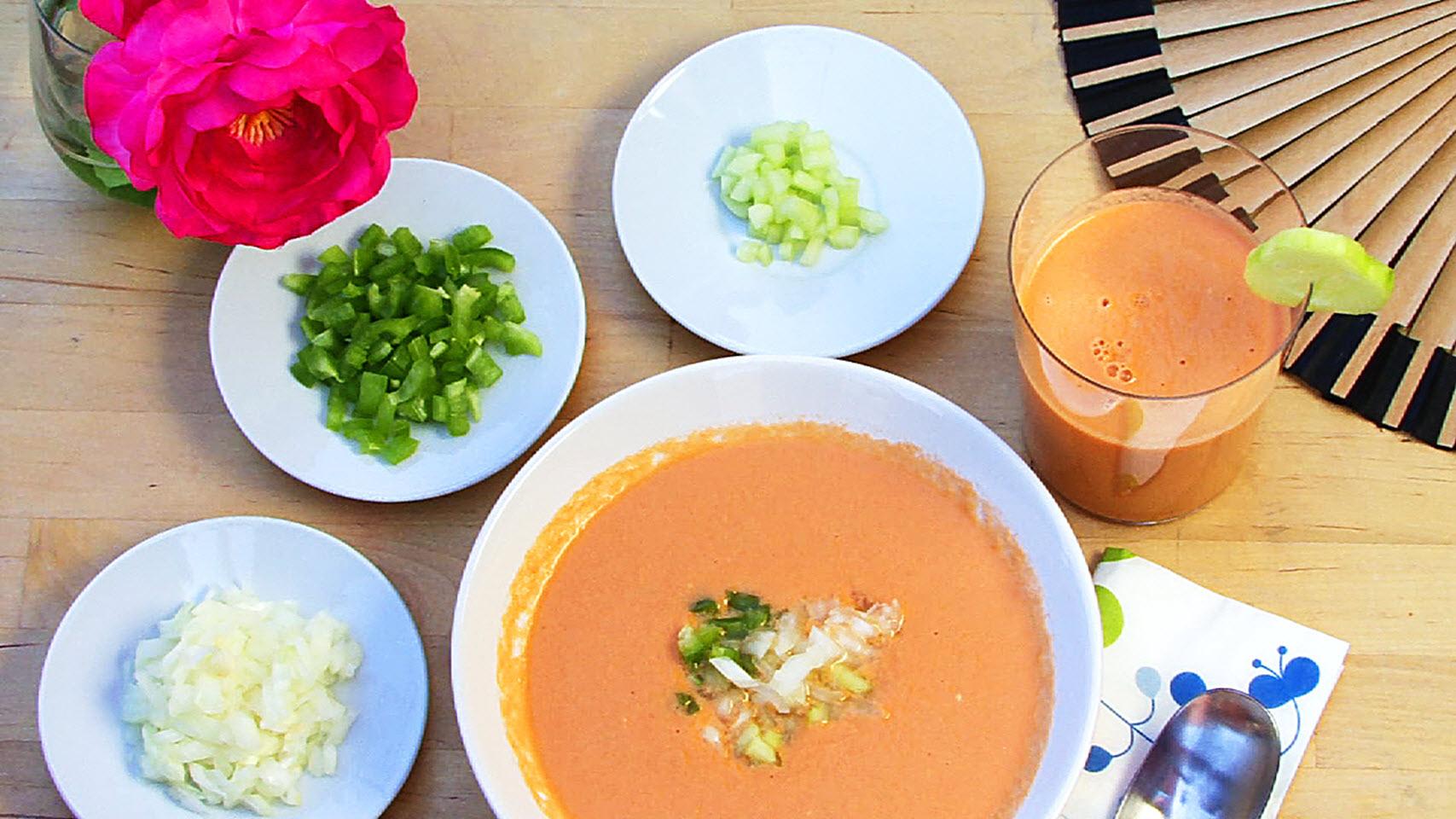 Spanish Gazpacho image