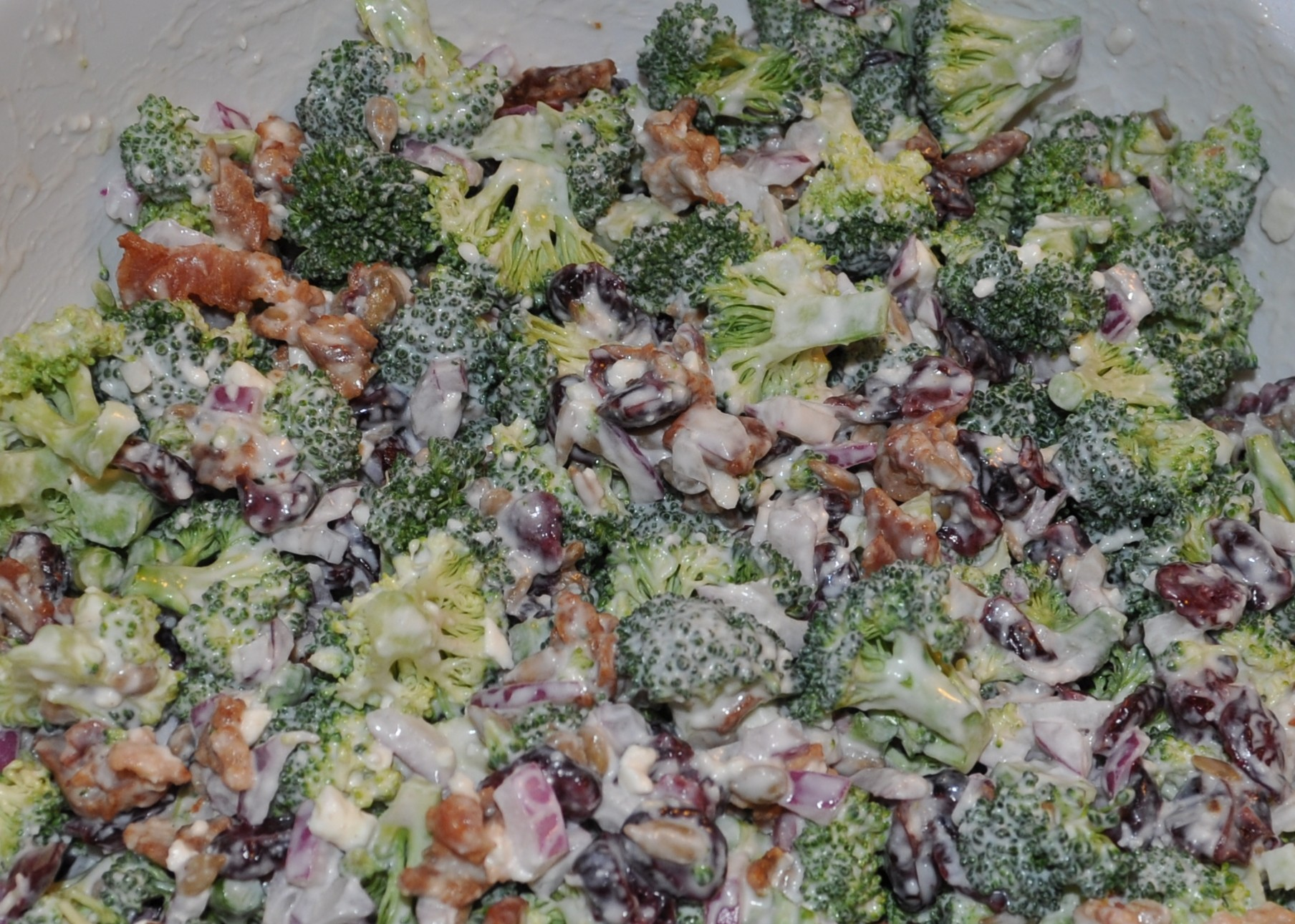 Broccoli Buffet Salad Betty Dickson