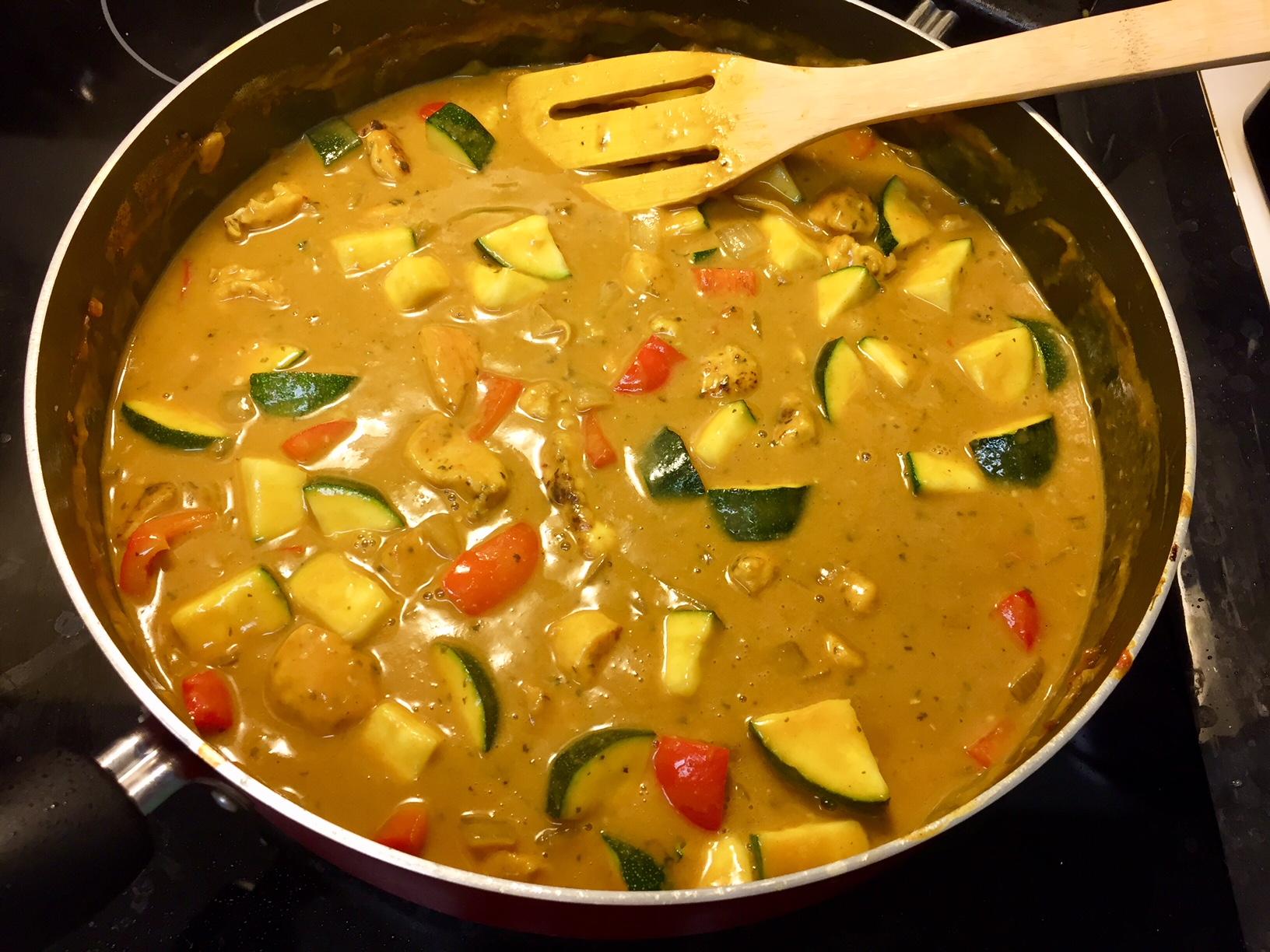 Chef John's Peanut Curry Chicken Kelly