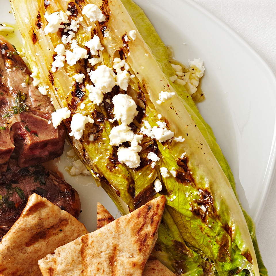 Grilled Romaine with Feta Diabetic Living Magazine