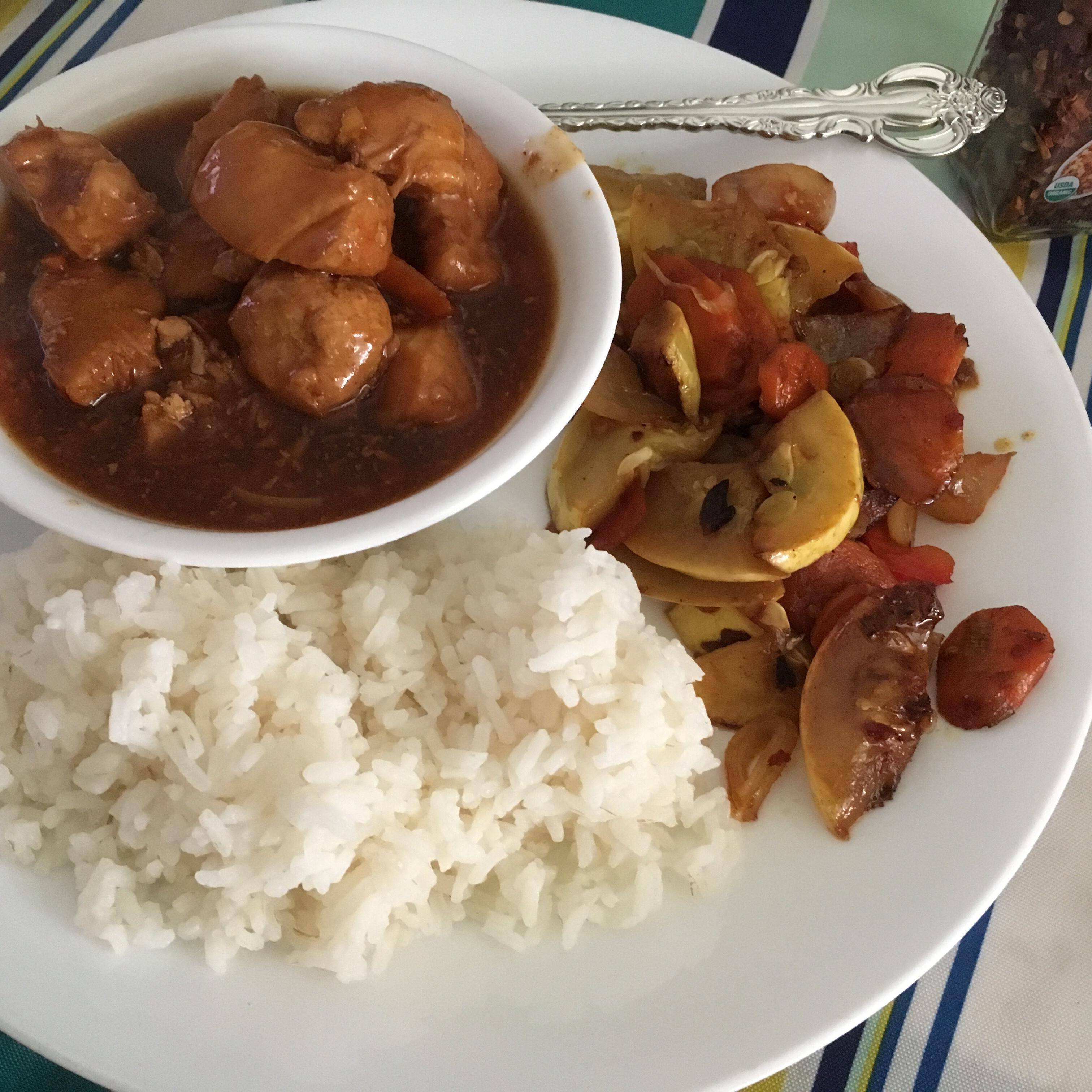 Instant Pot(R) Mongolian Chicken Fioa
