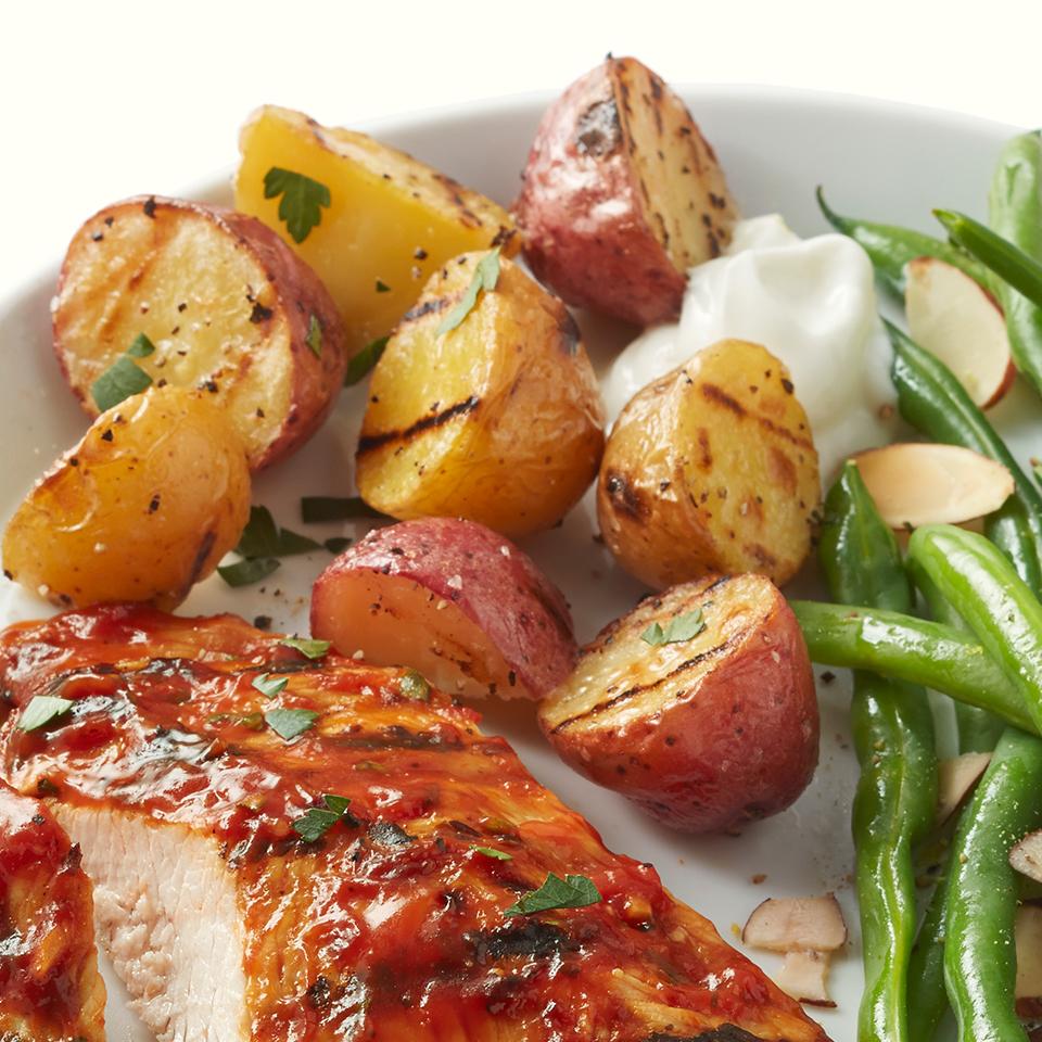 Grilled Potatoes Diabetic Living Magazine