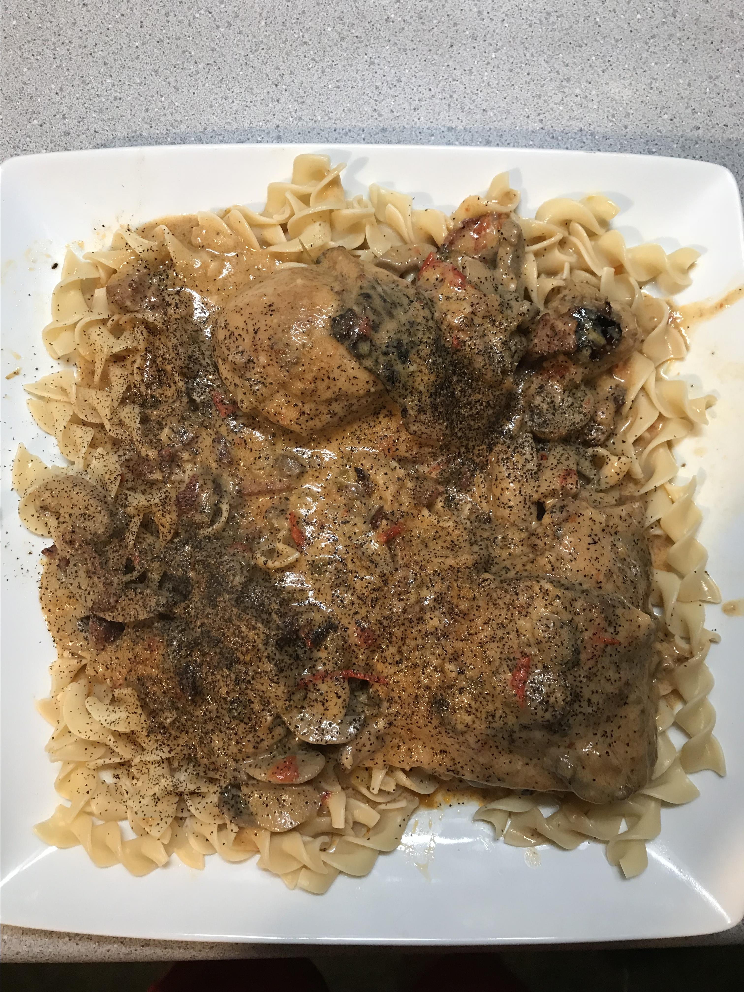 My Mother's Chicken Paprikash George C Levy IV