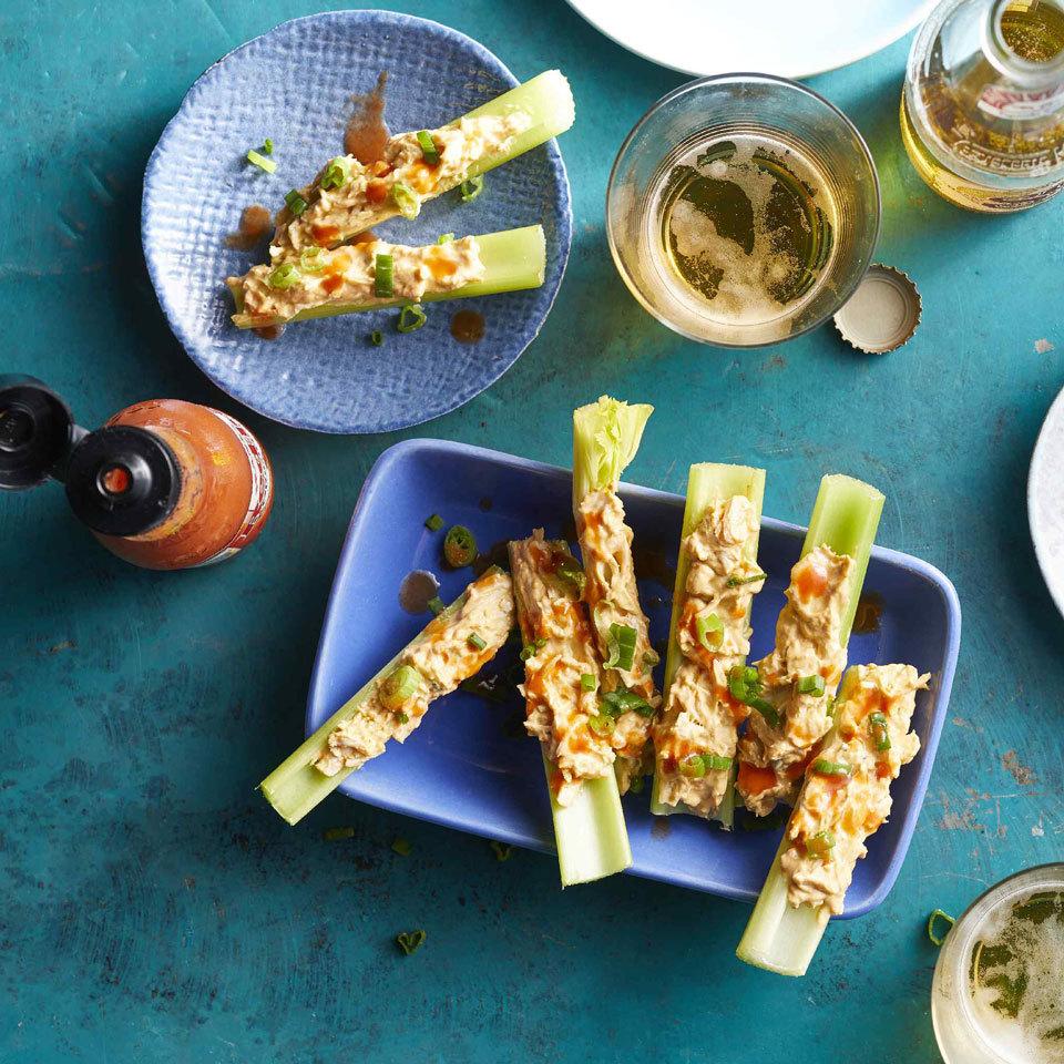 Buffalo-Chicken Celery Sticks Hilary Meyer