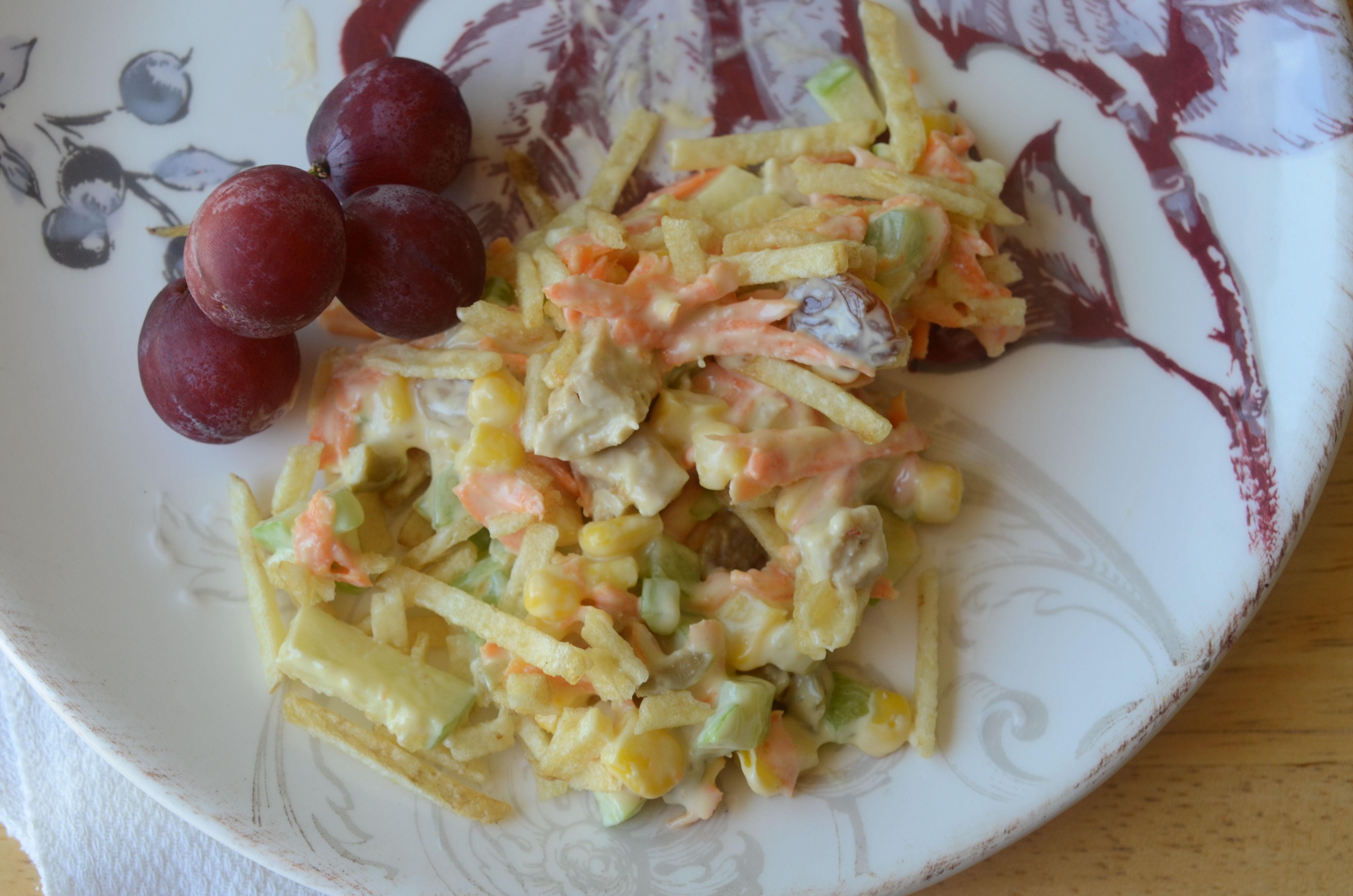 Brazilian Chicken Salad (Salpicao de Frango) Rita