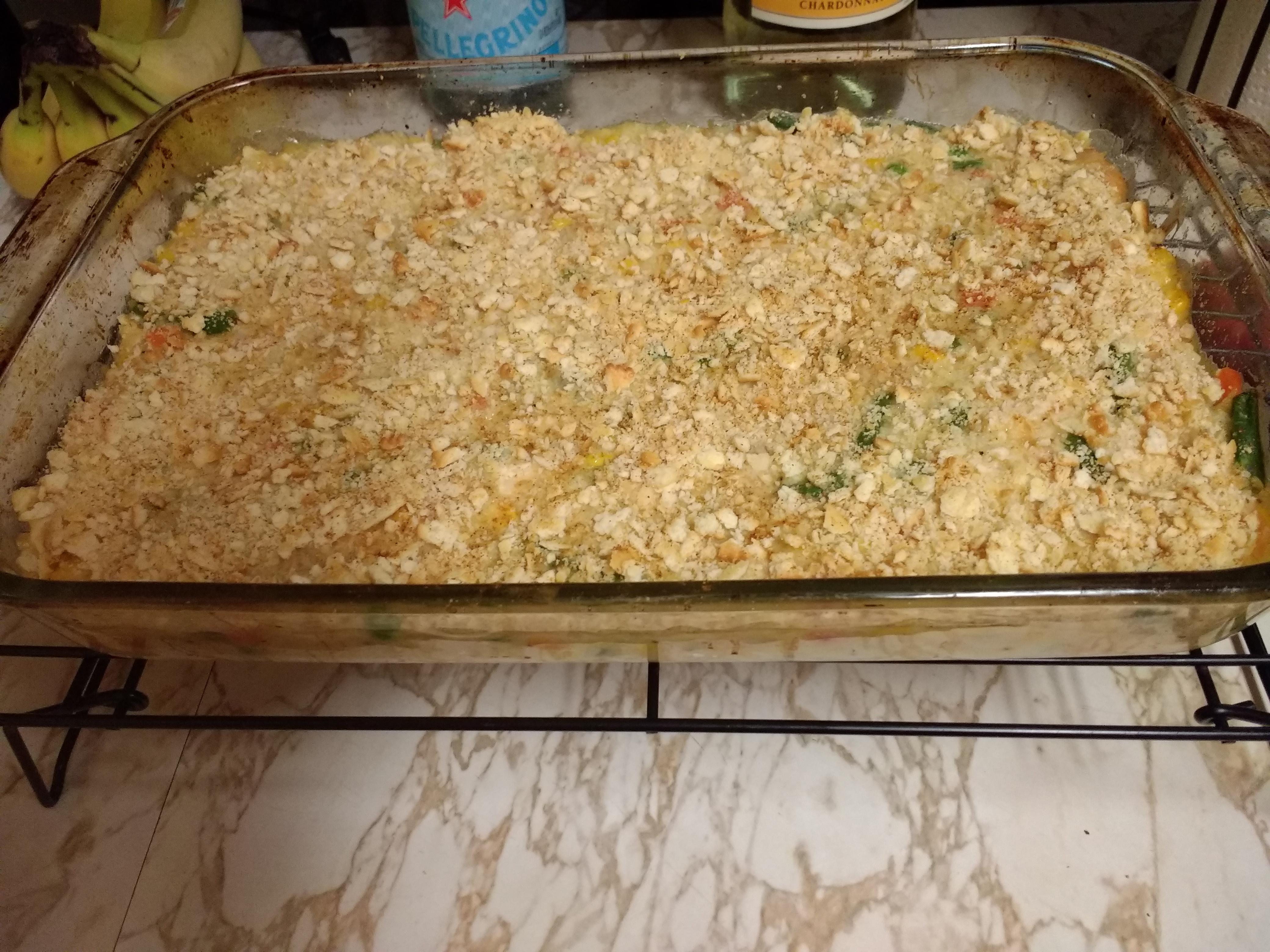 Veggie Chicken Rice Casserole Christie A