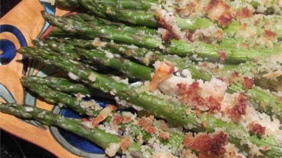 Photo of Parmesan-Panko Asparagus Spears by Sherbg