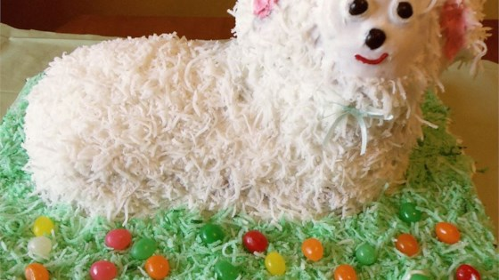 Photo of Coconut Lamb Cake by Trena