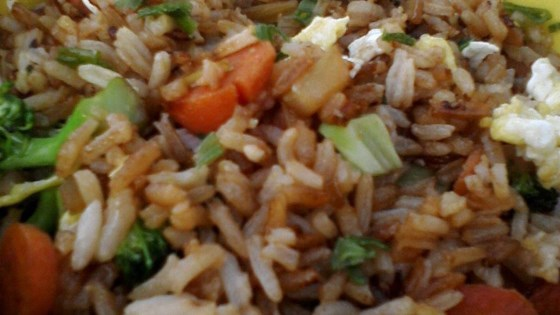 Photo of Vegetable Fried Rice by janice tofuri