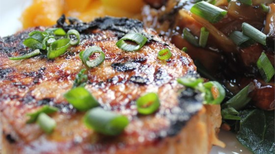 Photo of Grilled Asian Ginger Pork Chops by Lakmini Ebbinghaus
