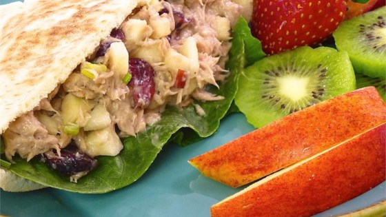 Photo of Amazingly Good and Healthy Tuna Salad by Lisa Mary Kalmerton