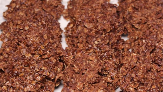Photo of No-Bake Chocolate Coconut Cookies by Tammy Oberlin