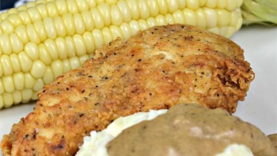 Burton's Southern Fried Chicken with White Gravy