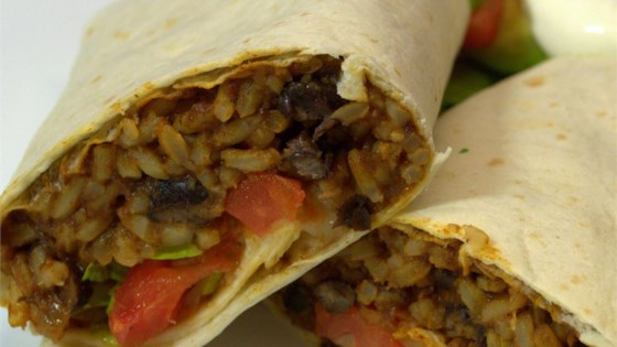 Photo of Black Bean and Rice Burritos by Bobikel