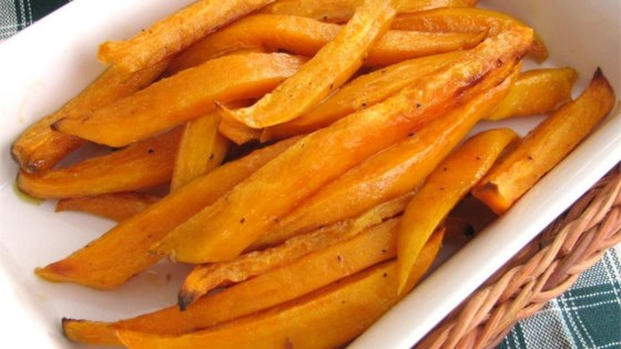 Photo of Sweet and Spicy Sweet Potato Baked Fries! by SPIFFYTIF