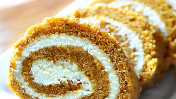 Photo of Grandma Carol's Pumpkin Roll by SusieQ