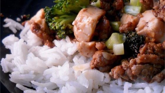 Chinese Style Ground Pork and Tofu