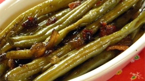 Photo of Sweet and Tangy Green Beans by ODIEZMA