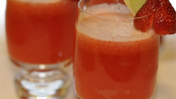Photo of Strawberry Beer Margaritas by Arizona Desert Flower