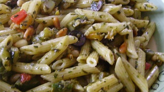 Photo of Pesto Penne Primavera by Mikey's Kitchen