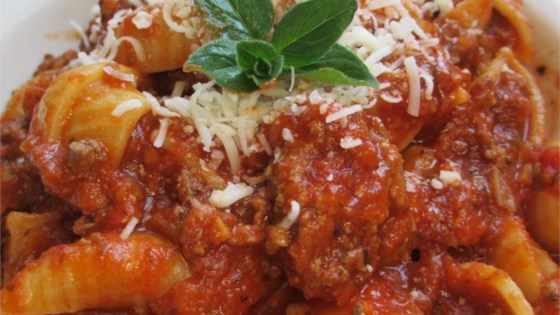 Photo of Conrad's Spaghetti and Meat Sauce by Paul O'Connor