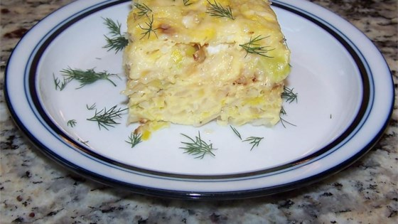 Photo of Potato and Leek Frittata by Cook and a half