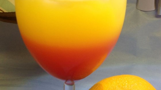 Photo of Tequila Sunrise Cocktail by Allrecipes