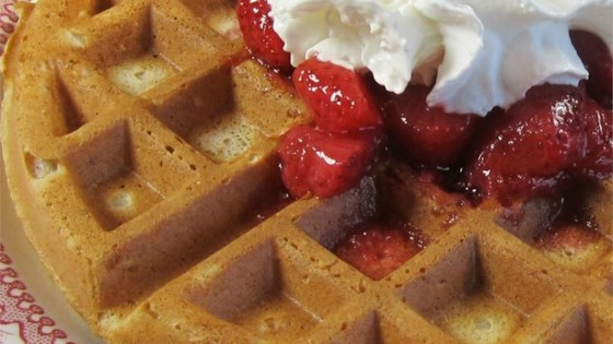 Whole Wheat Oat Waffles
