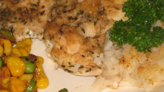 Photo of One Dish Rosemary Chicken and Rice Dinner by PIDGE